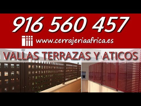 Vallas Para Terrazas De áticos 916 560 457