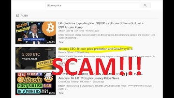Live Crypto Giveaway Scams Plague Youtube