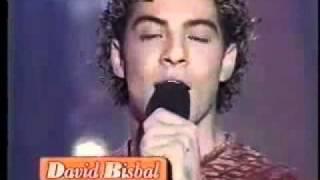 "David Bisbal y Naim Thomas ""Nada cambiará mi amor por tí"" Operacion Triunfo Gala 07 (10/12/2001)"