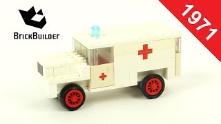 Lego - Back To History - 373 Ambulance - 1971 - BrickBuilder