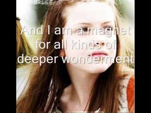 Wunderkind song Narnia Alanis Morissette with lyrics