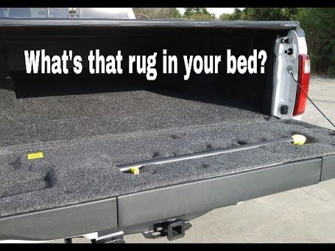 Carpet Bed liner in Ford F450... Why? Or Bedrug.. - YouTube