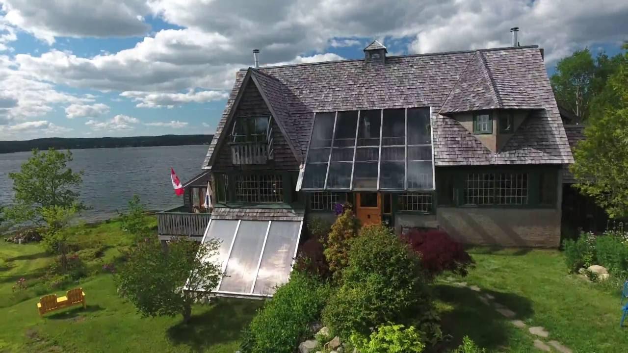 Oceanfront Property in Nova Scotia - YouTube
