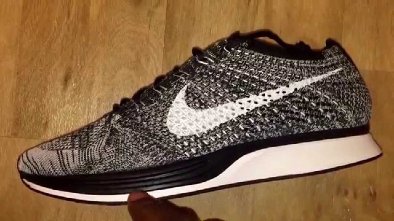 a7796edadae17 ... best price nike flyknit racer oreo 2.0 quick look youtube 15d7f 2dfa5
