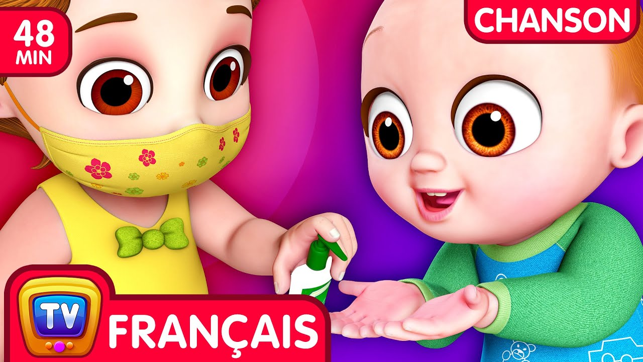 Chanson Oui oui Soyons en sécurité (Yes Yes Stay Safe Song) - ChuChu TV Chansons Collection