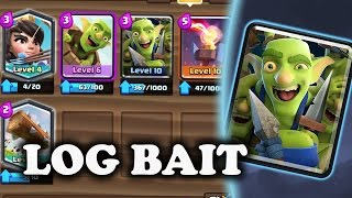 Goblin Gang Log Bait Deck | Clash Royale