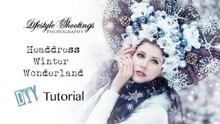 Headdress Tutorial - Winter Wonderland