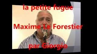 la petite fugue (Maxime Le Forestier) reprise