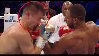 3 Times Golovkin Blocked Punches With His Face