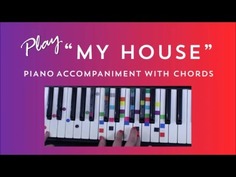 How To Play Sing My House   Flo Rida | Easy Piano Chord Lesson | IVOREEZ