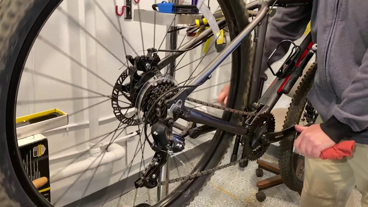 how to unknot a bike chain