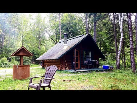 Ideal Small Log Cabin In The Wilderness