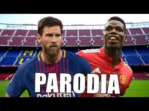 Canción Barcelona vs Manchester United (Parodia Ozuna - Vacía Sin Mí feat. Darell)