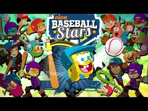 Nickelodeon Baseball Stars Online Free Games