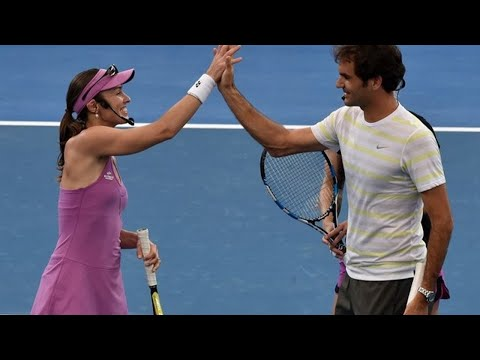 Hingis helped me become Slam champion, says 'not sad' Federer