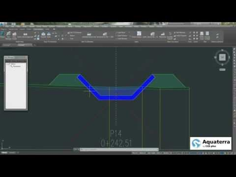 Aquaterra 2016 - Advanced CAD River Engineering Design with Aquaterra & MIKE HYDRO RIVER