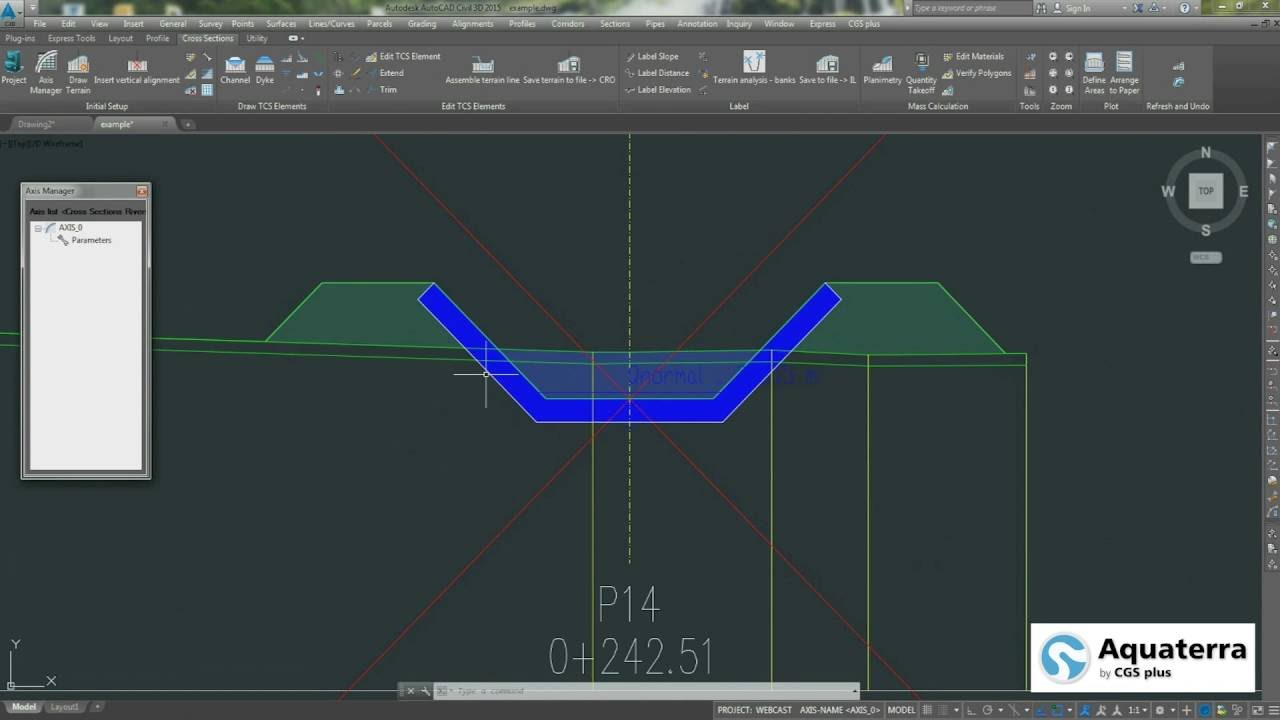 Aquaterra 2016 Advanced Cad River Engineering Design With Aquaterra Mike Hydro River Youtube