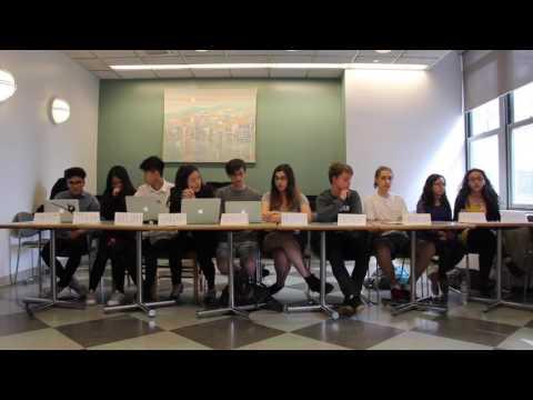 Stuyvesant Junior Caucus Debate 2017