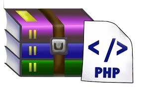 How to zip a folder - PHP