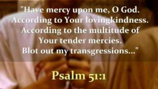 Psalm 51: Repentance