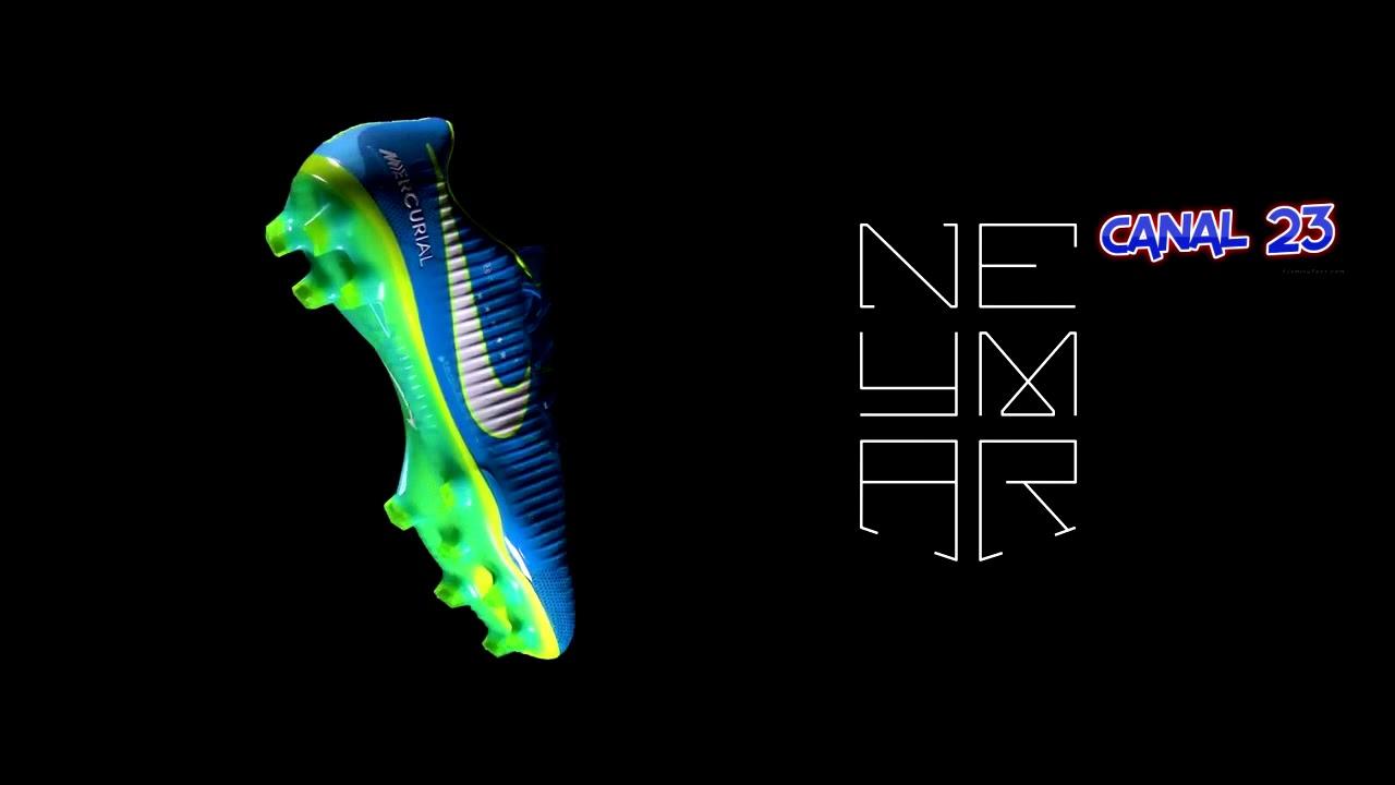 """37325ca718 Nova chuteira personalizada de Neymar Jr """"Escrito nas estrelas"""" - Nike  Mercurial Vapor XI"""