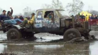 Strange 4x4 Mud Trucks at Spring Mudfest 2010