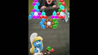 Smurfs Bubble Story Level 110 - NO BOOSTERS