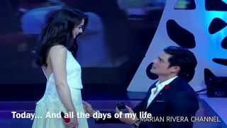 "Dingdong Dantes & Marian Rivera ""The Royal Engagement"" with English Subtitle"