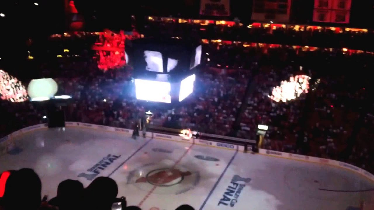 bb29c2e072a Intro from the 2012 NHL Stanley Cup Finals- Game 1: LA Kings vs NJ Devils  (Prudential Center)