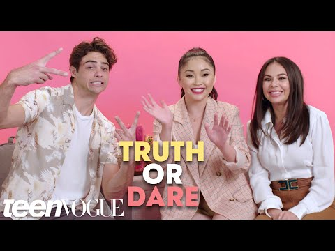&39;To All the Boys I&39;ve Loved Before&39; Cast Plays Truth or Dare  Teen Vogue