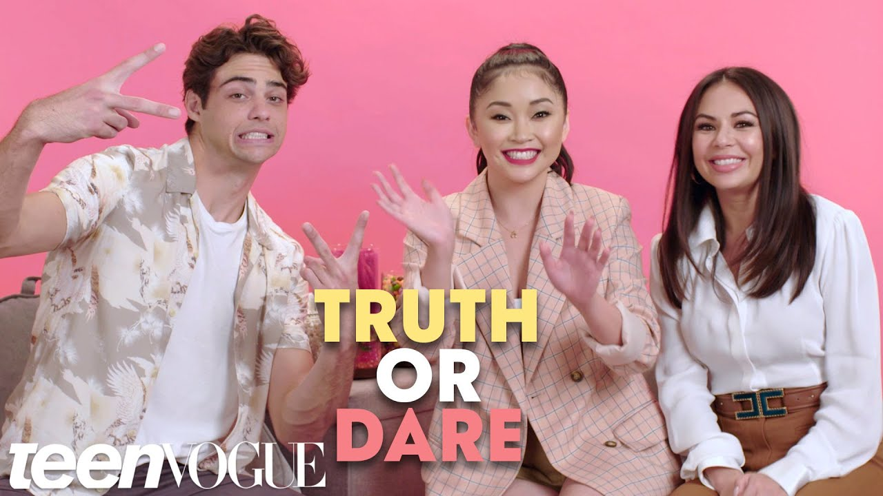 7ff2c19fc98  To All the Boys I ve Loved Before  Cast Plays Truth or Dare