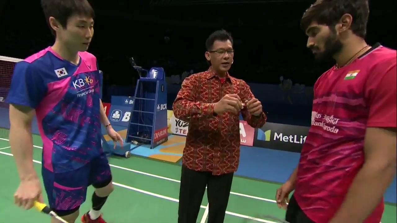 BCA Indonesia Open 2017 Badminton SF M2 MS