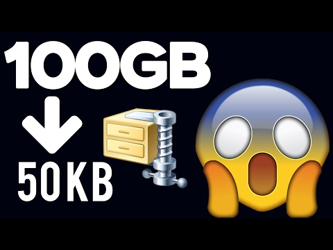 How To Highly Compress Files [100GB To 50KB] ─ Secret Revealed!