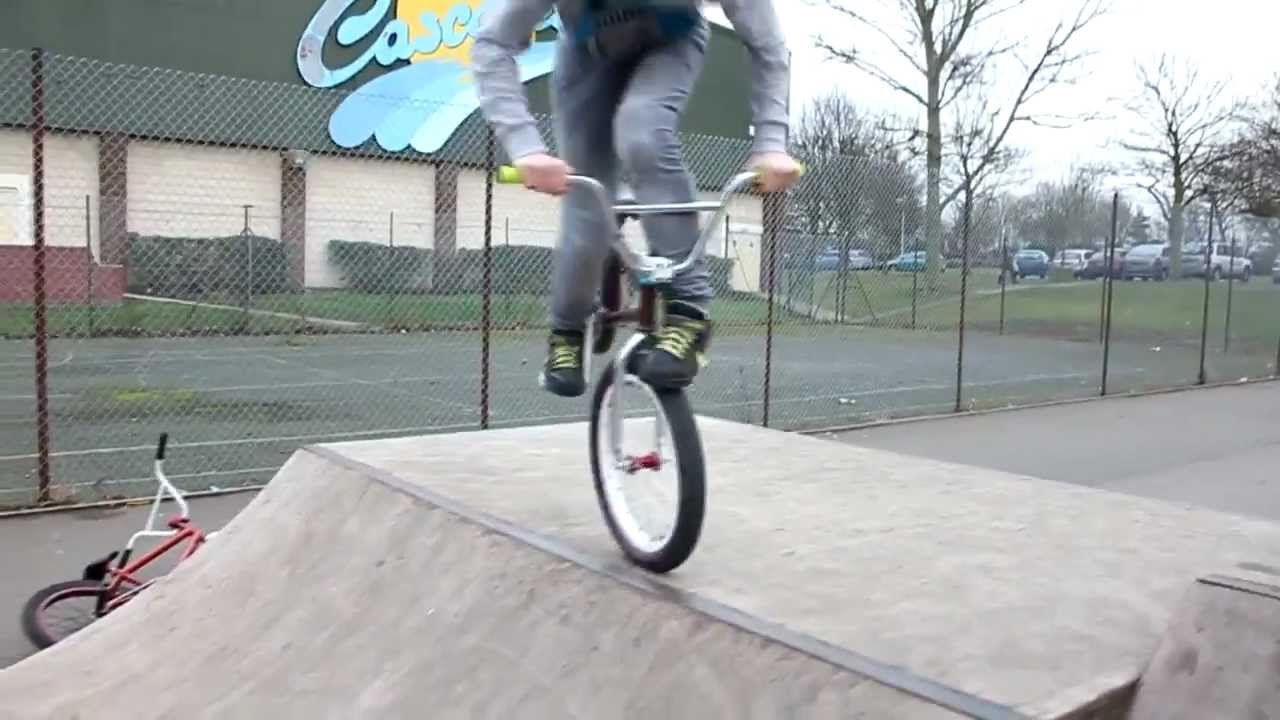 Cascades and corby leftover bmx clips