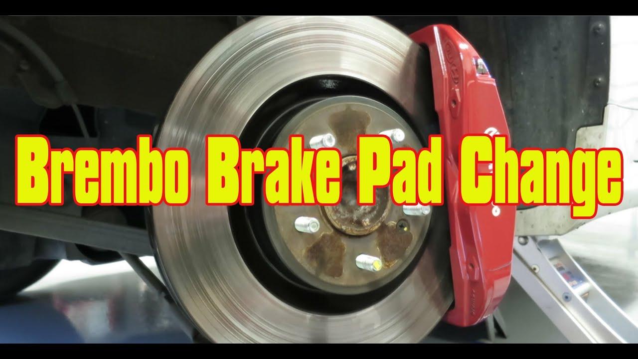 Brembo Brake Pad Change Genesis Coupe