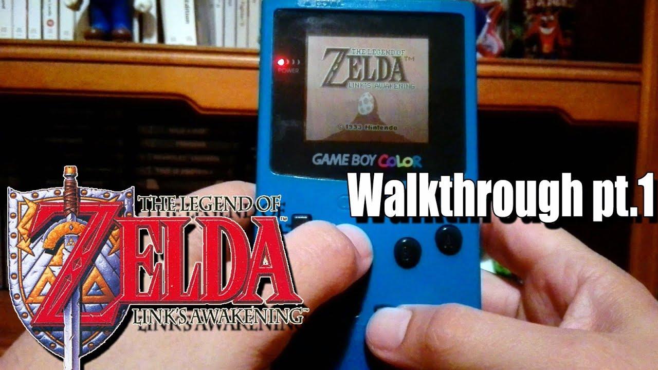 The Legend Of Zelda Link S Awakening Walkthrough Part 1