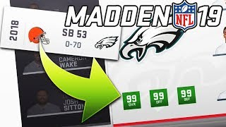 Would a 99 Overall Team EVER Lose? Madden 19