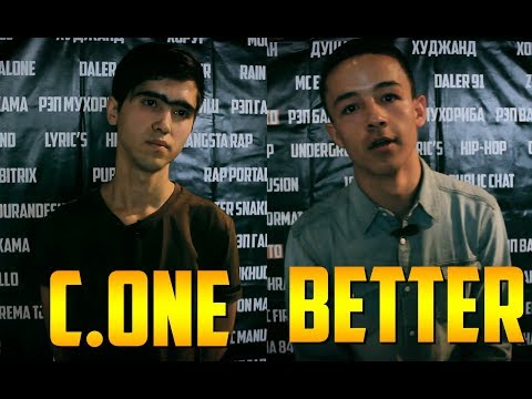 Видео Battle Better vs C.One Alpfa (RAP.TJ in Moscow)
