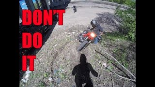 Don't Bring Your Hypermotard Off-Road
