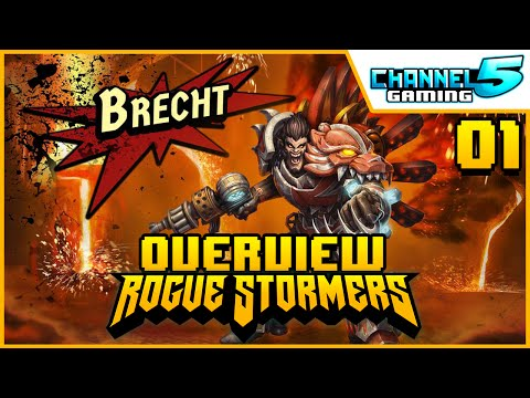 Brecht - Character Review 01 (Rogue Stormers)