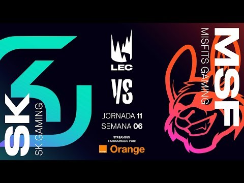 SK GAMING VS MISFITS GAMING | LEC | Spring Split [2019] League of Legends