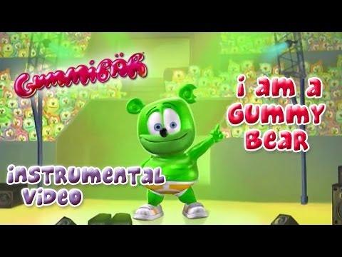 The Gummy Bear Song Instrumental With Lyrics - Gummibär The Gummy Bear
