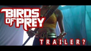 When is the Birds of Prey Trailer Coming out? #Birdsofprey #DCEU