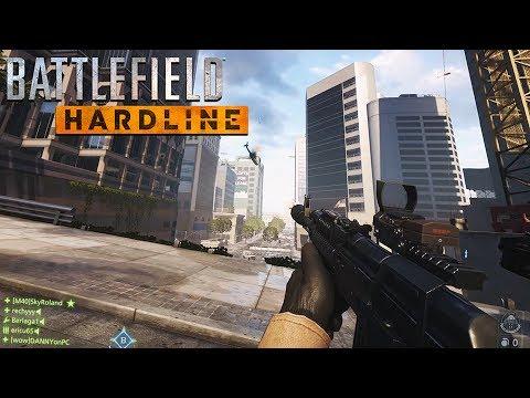 Battlefield: Hardline - Heist PC Gameplay