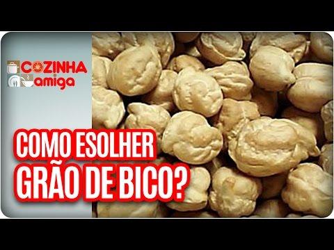 Como Escolher GRÃO DE BICO? | Dicas Da Banca - Cozinha Amiga (10/04/17)