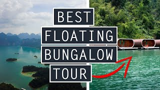 PHUTAWAN RAFT HOUSE REVIEW // Tour Our FLOATING BUNGALOW // THAILAND
