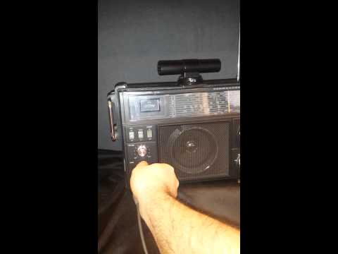Realistic radio sw-100 working as a pa system