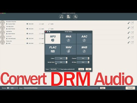How To Remove DRM Protection In ITunes (TunesKit DRM Audio Converter)