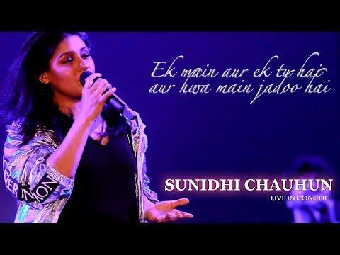 Ek Main Aur Ekk Tu    Sunidhi Chauhun    LIVE Concert    Kolkata