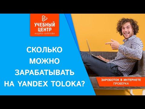 Сколько можно зарабатывать на Яндекс.Толока?